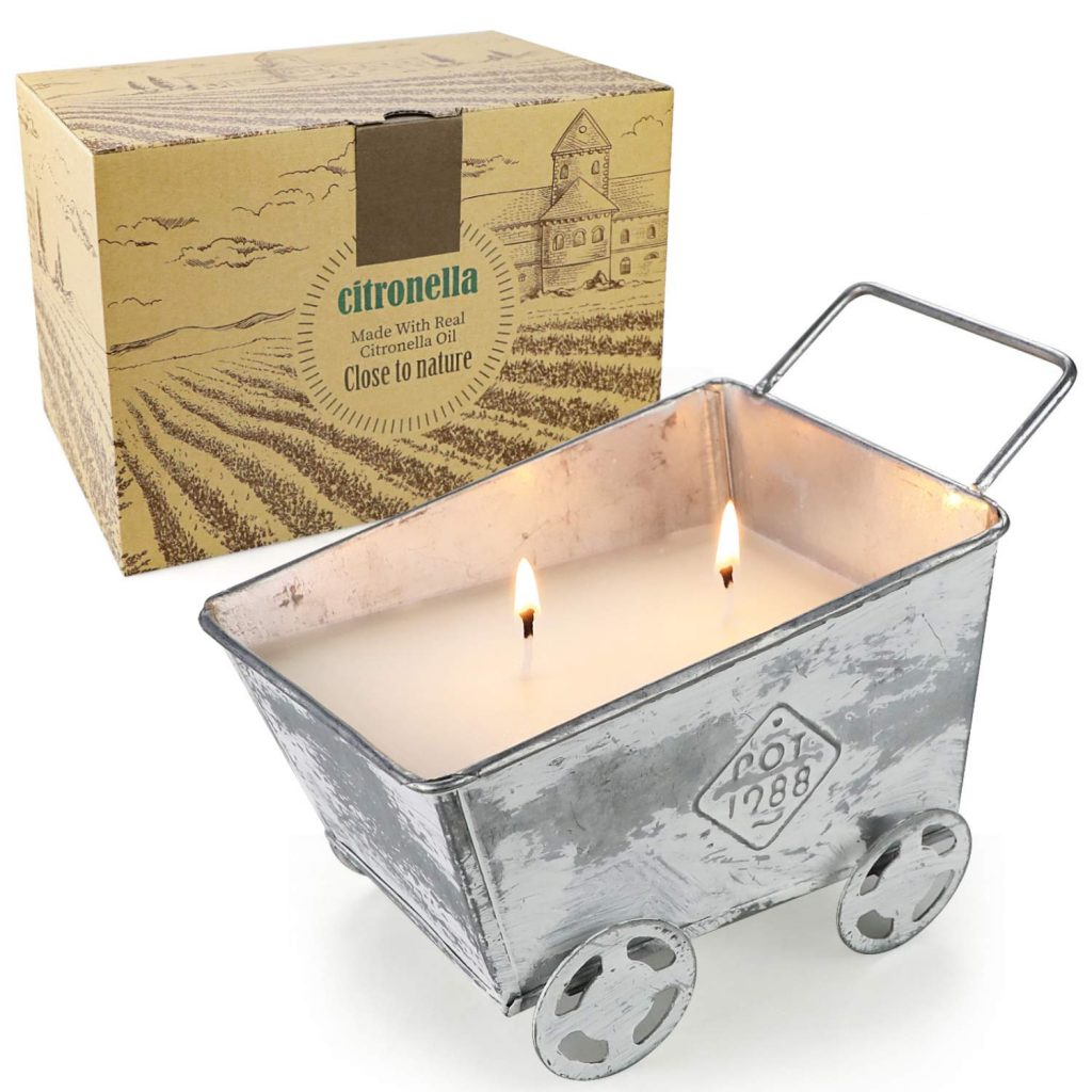 YINUO LIGHT Soy Wax - large outdoor citronella candle